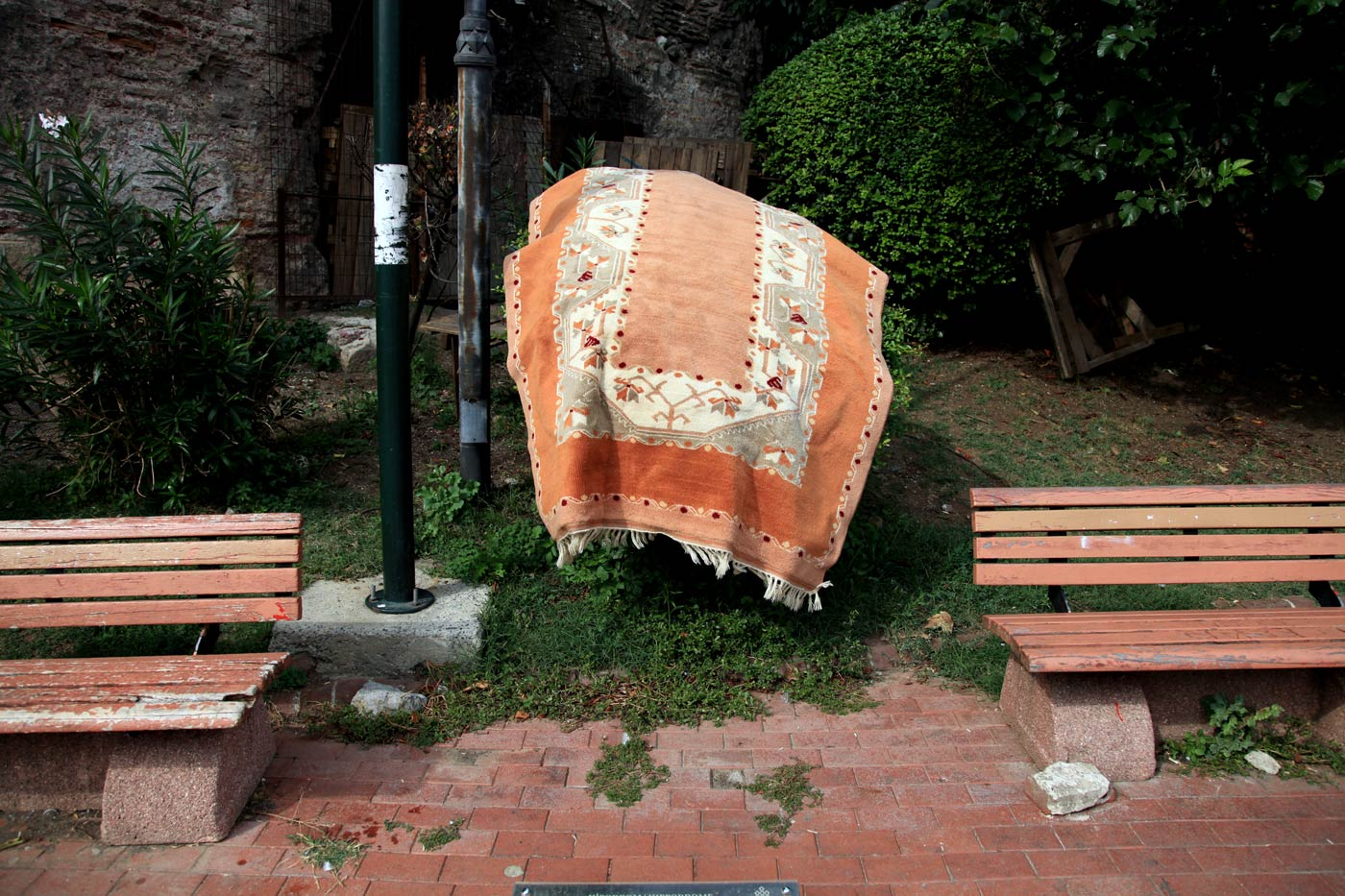 Hung out to dry, Istanbul