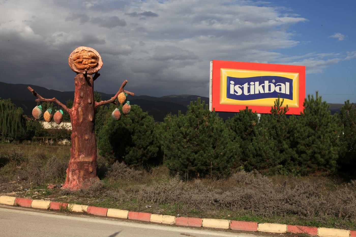 Niksar, famous for its walnuts, Turkey