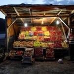 Apple seller, Bolu, Turkey