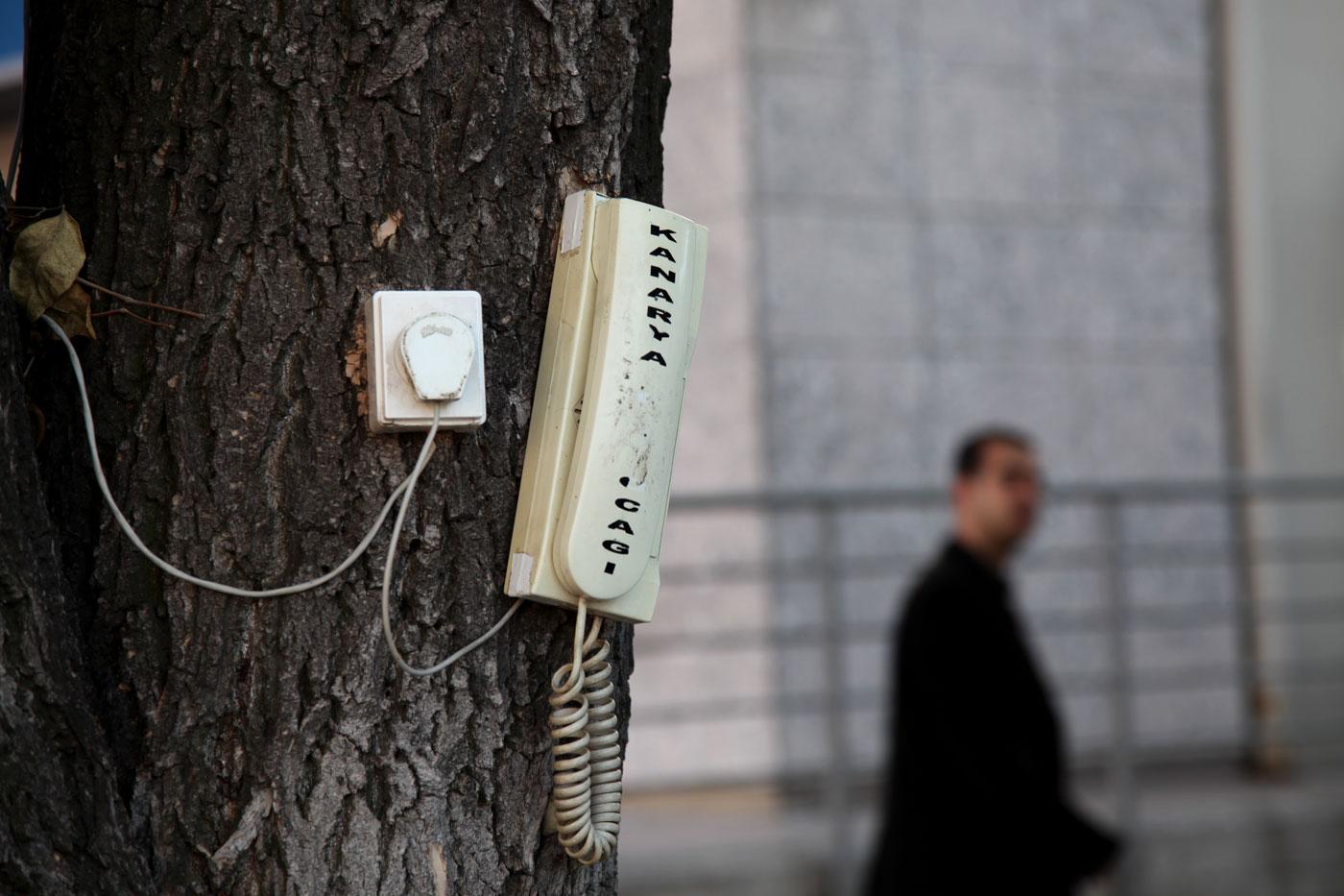 Trunk call, Edirne, Turkey