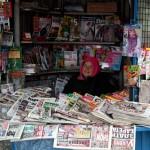 Magazine seller, Kyustendil, Bulgaria