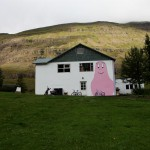 Baba Papa house at Seysdisfjordur, Iceland