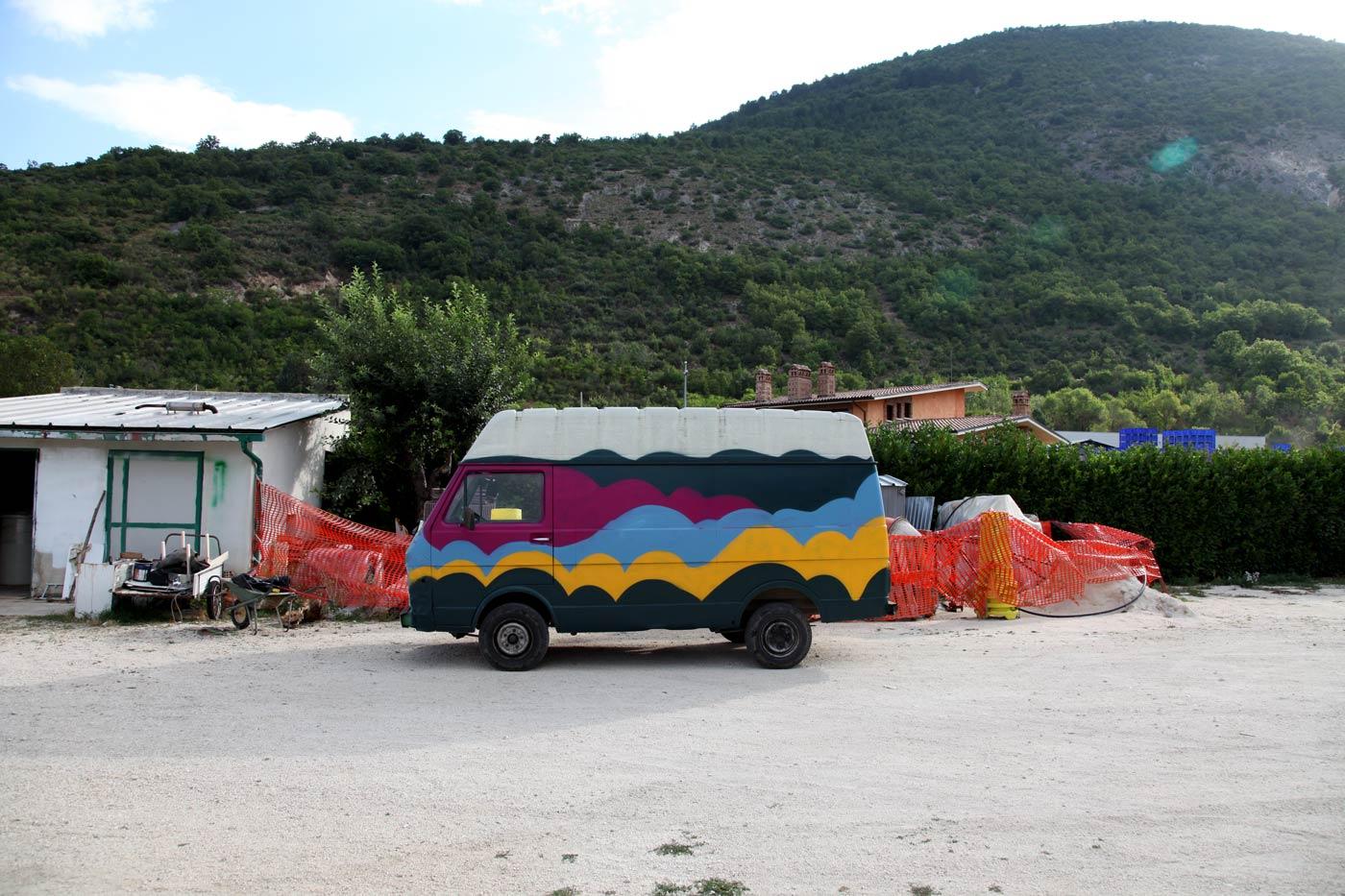 Happy Camper van, Gioia dei Marsi, Italy