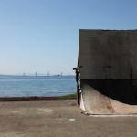Skate ramp, Nafpaktos, Greece