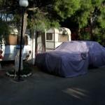 Covered car #1, Delphi, Greece