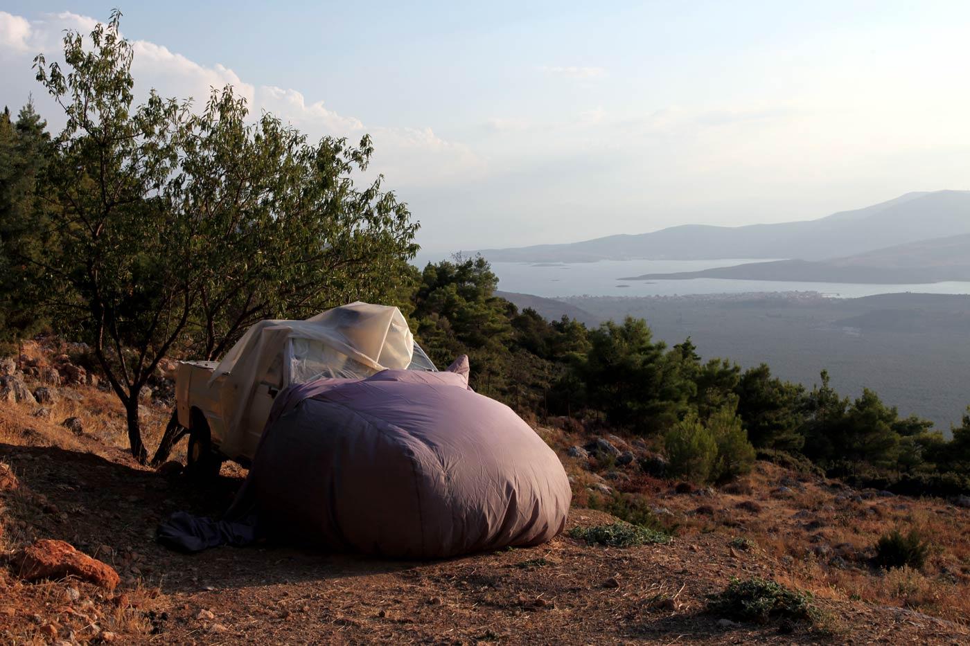 Covered car #2, Delphi, Greece