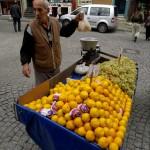Orange seller, Istanbul